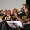 .. und singen...